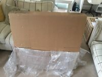 8 x flat pack brand new card board large boxes