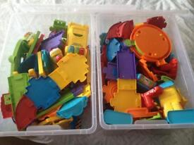 Absolutely huge bundle of toot toot train tracks with masses of extra accessories