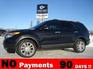 2012 Ford Explorer XLT 4X4 *Panoramic Roof & Leather*