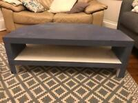 Ikea media unit tv stand table Annie Sloan paint
