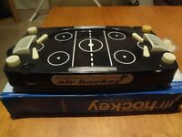 Table air hockey game
