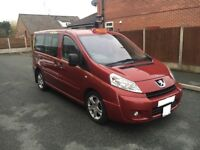 Taxi peauget 2009 E7 short wheel base only £3990