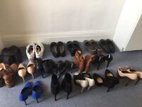 Women's shoes size 8/41 job lot.