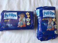 Huggies potty training pants size 6