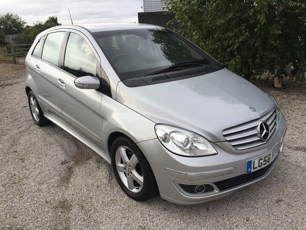 2006 56 plate mercedes b class b200 cdi diesel automatic new 1 year mot nice auto car b. Black Bedroom Furniture Sets. Home Design Ideas