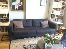 IKEA Karlstad 3 seater sofa £50 OBO optional brand new covers