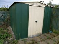Aluminium shed 2.3 x 2.8 m