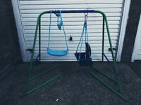 Kids garden 2 in 1 swing