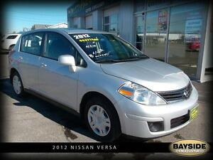 2012 Nissan Versa 1.8 S | ONE OWNER SUNROOF! |