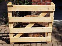 wooden stair or door gate