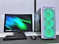 Mid Level Gaming Computer PC Full Setup (Intel i5, 16GB RAM, SSD, GTX