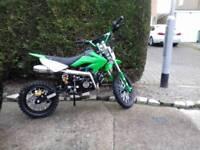 125cc dirt bike 4 gears with clutch