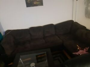 L-shaped couch and more