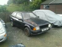 Breaking Ford Escort mk3 mk4 mk5 xr3 rs turbo xr3i