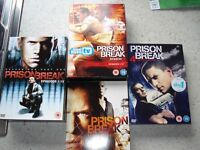 PRISON BREAK COMPLETE SET