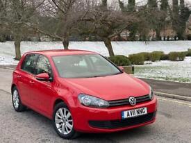 2011 Volkswagen Golf 1.6 TDI Match Full Service History 2 Keys + Not Audi Seat Ford