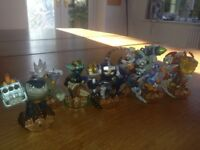 Skylanders Figurines-Spyros' Adventure, Giants, Swap Force, Trap Team, Superchargers and Imaginators