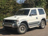 2003 MITSUBISHI SHOGUN, 2.8 DIESEL ENGINE, 3 DOORS, LONG MOT & AUTOMATIC.