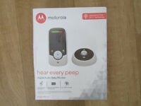 Motorola Digital Audio Baby Monitor NEW BOXED LONDON W11
