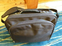 Laptop bag or Messenger bag. Robust black fabric. Excellent condition