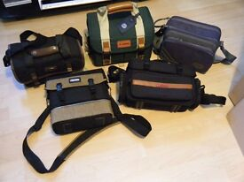 5 camera / photography cases also ideal for fishing - multiple compartments