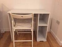 Ikea White Desk Wood £15 (RRP £60) needs to go ASAP