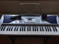 Electronic Keyboard and Stand