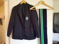 Girls lismore blazer and school scarf Size 11 (15yrs -16yrs)