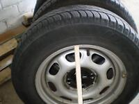 Wheel rims and tyres for sale