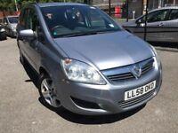 58 plate - Vauxhall Zafira 1.6 petrol - 5 months mot - 75k on the clock