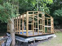 Garden Office - almost complete 6M x 4M High Quality