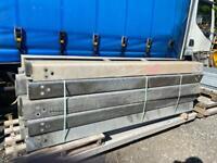 1no 2.4mtr Box Beam crash barrier length