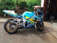 """Gsxr 750 K1 """" Rizla Paint"""" stunning bike"""
