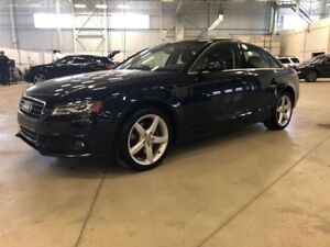 2011 Audi A4 PREMIUM - AWD LEATHER SEATS * SUNROOF