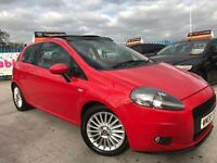 2008 08 Fiat Punto 1.4 GP-Mods -78k-S/H - Cambelt Changed -Sony CD/MP3/USB-15 MONTHS FREE WARRANTY!!
