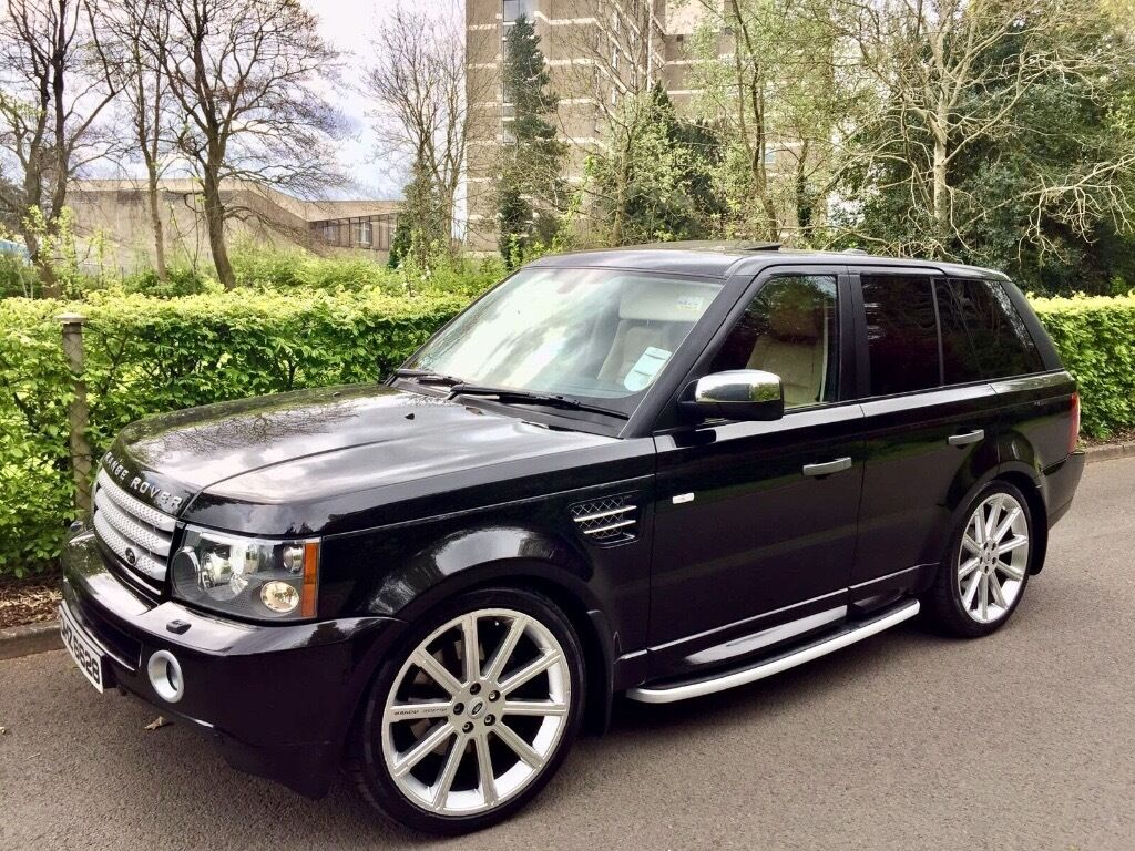 2007 range rover hse sport great extras low miles sunroof. Black Bedroom Furniture Sets. Home Design Ideas