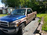 2001 Dodge Power Ram 1500 brown Pickup Truck