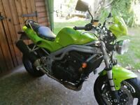 Triumph Speed Triple 955I 1999 model for sale only 15000 miles from new