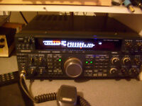 kenwood ts 480hx boxed mint all cables + other radios