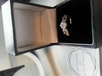 LADIES GOLD RING SIZE L REAL GOLD