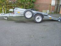 car trailer, lightwhieght hydrolic tilt 1,300 kg pay load, used only once