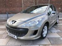 2011 PEUGEOT 308 1.6 SPORT AUTOMATIC / 1 LADY OWNER / 41000 MILES