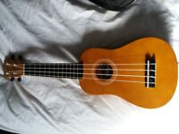 VINTAGE VUK15N UKUELE AND BAG