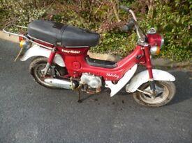 Cf70 Chaly Style Stepthru Motorcycle