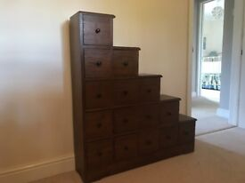 John Lewis Step /Stepped Cabinets - LH & RH - Pair Available