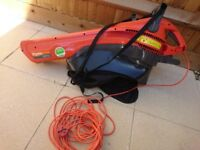 Flymo MEV2700 used in great condition plus extension power cable