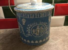 Vintage Art Grace metal containers £15 the pair.