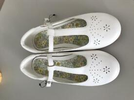 Brand new girls white shoes from next size 11