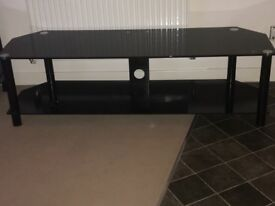 ***LARGE TV STAND BLACK GLOSS***