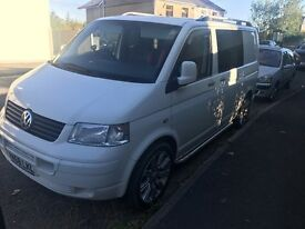Volkswagen transporter t5 2008 day can excellent condition
